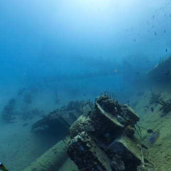 Wreck of German freighter from World War II 1 | Arubiana
