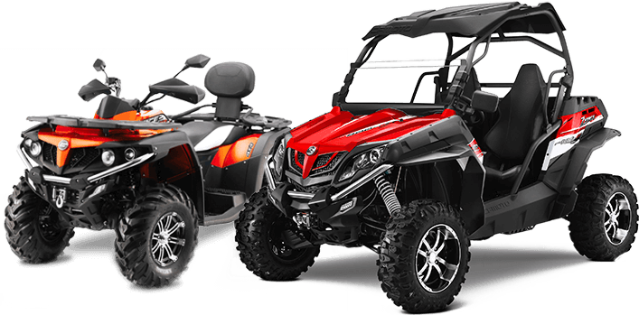 cforce & zforce UTV, ATV and sand dune buggy rental